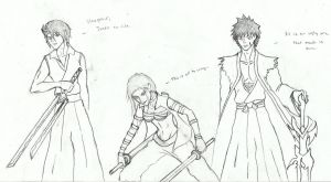 3 Bleach oc's by Kross1794
