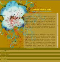 In Bloom Journal Skin (Large Version) by sioranth