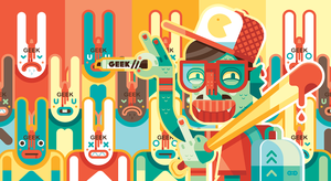 Mostro Geek by Helbetico