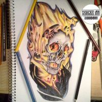 Ghost Rider  by XercesInk