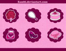 Girly set by zambicandy