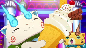 Yo-Kai Watch (OH MY SWIRLS!!! I WON ICE CREAM!!!) by ENDORE050