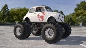 1968 Fiat Abarth 595 Monster by SamCurry