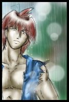 Arion In the rain by CrazyAndHyper