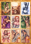 Pin-Up Cards by Darya87