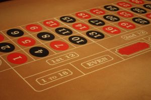 Roulette casino table by photohouse