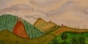 The Golden Hill by ArmelleS