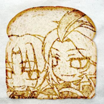 Bread by tehYurigiri