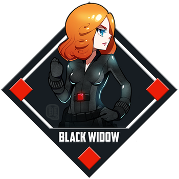 Marvel - Black Widow by Quas-quas