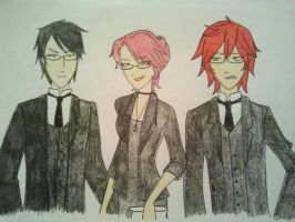 Forever Red - Class A Group B by GothShelle