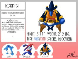 Fakemon, Lordfish by mastergloyd
