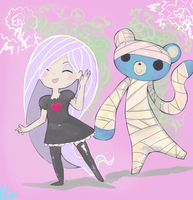 Ghostly Groovin by Nabashio