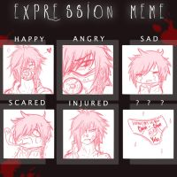 RD   Expression meme. by shattered-butterfly