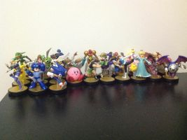 All My Current Amiibos by DestinyDecade