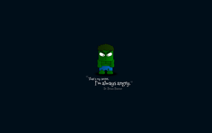 Hulk is Always Angry by LordGiotto