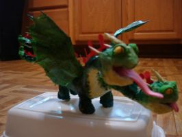 HTTYD Zippleback Cake Topper by zamor438
