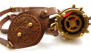 Steampunk Monogoggle 6 by AmbassadorMann