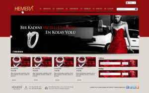 Hemera Gold Web Interface Red | By Zarif BALCI by zarifbalci
