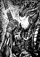 Elric Giger-style by francesco-biagini