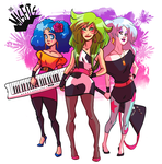 Jem Pitch: The Misfits by peach-mork