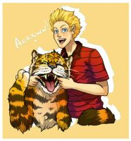 Calvin and Hobbes by WhiteGriffis