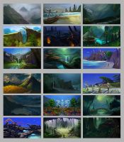 The Islands - thumbnails by Zephyri