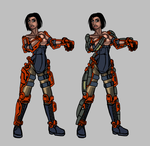 NATO musclesuit by Daemoria