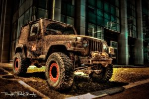 Wrangler who doesn't give a shit by Piroshki-Photography