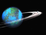 Earth-like Ringed Planet 2 by Stargem