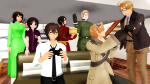 MMD Hetalia - A peaceful day? by PikaBlaze