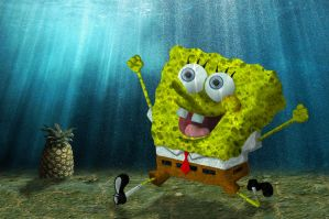 Sponge-Bob by MTDewer