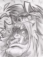 SabreTooth Sketch Shot by StevenSanchez