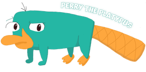 Perry the Platypus by simone-13