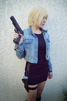 Aya Brea - Parasite Eve II Cosplay by Dragunova-Cosplay
