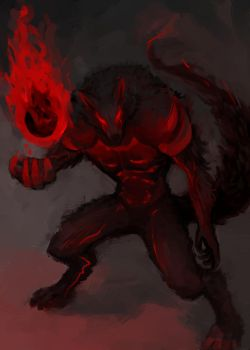 Lycan - An original character for my webcomic by Paiplez