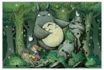 TOTORO COLOR by RM73