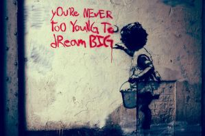 Never too young to Dream big by deepgrounduk