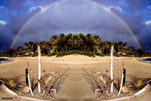 Rainbow Mirror by manaphoto