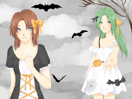 HigurashiHalloween. by maxxlovee