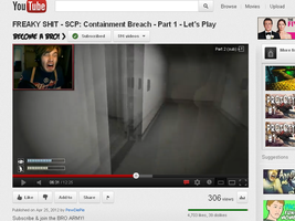 PewDiePie's Face.. wow.. by CaptiveKitty