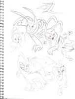 Zill sketches the sequel by VivzMind