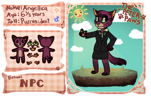[The-Peterpaws]: Angellica the Purresident by Panderoo