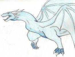 Blue dragon by ToxicDragonBlood