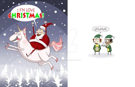 X-MAS Card 2010 by MichaelBills