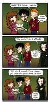 HP: Snape, the Party-Pooper by blackbirdrose