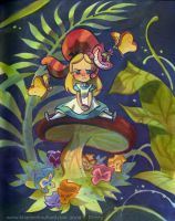 Alice in Wonderbreadland by potatofarmgirl