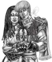 Duana and Bob finished by Sileas