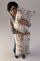 Baguette Body Pillow by Ananina23