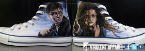 Harry Potter shoes by danleicester