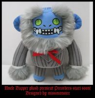 Dapper plush preview by missmonster
